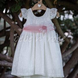 Βαπτιστικό φόρεμα κορίτσι δαντέλα