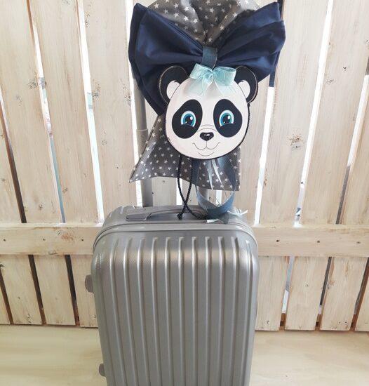Βαλίτσα τροχήλατη Panda