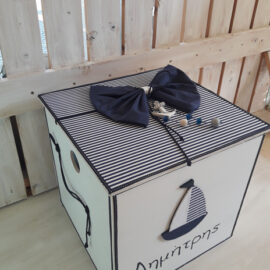 Κουτί ξύλινο Καραβάκι