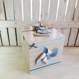 Κουτί ξύλινο ανεμόμυλος